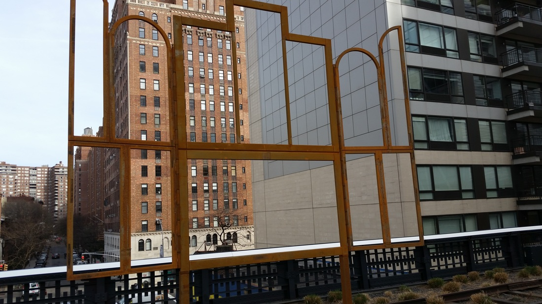 High Line Park in New York City.