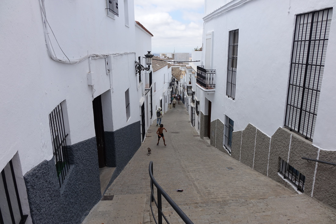 The white village of Medina-Sidonia in the Andalusian region of Spain.