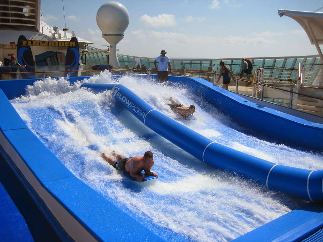 FlowRider on Royal Caribbean's Navigator of the Seas.