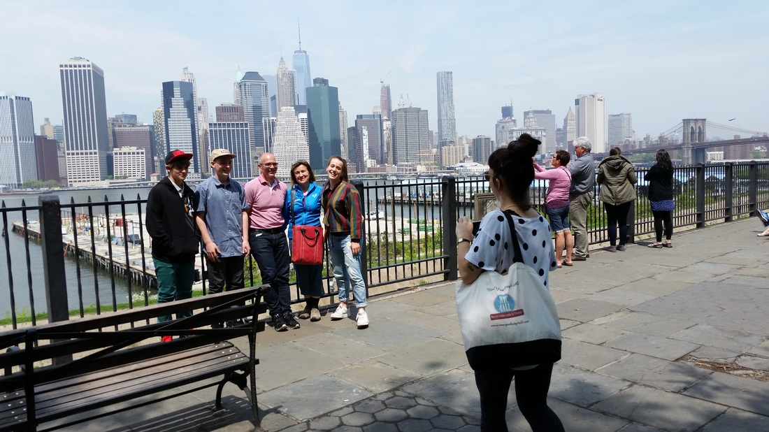 The Brooklyn Heights Promenade is a popular spot for pictures, recreation and relaxing.