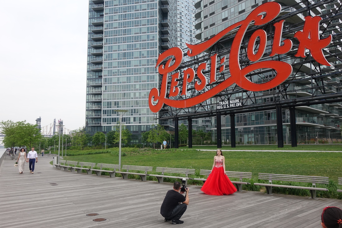 The Pepsi-Cola sign in Queens.