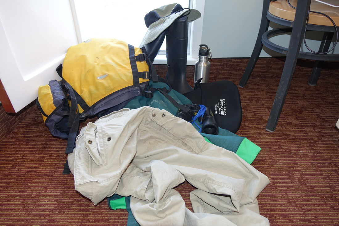 Outdoor gear for Alaska expedition cruise with Un-Cruise Adventures