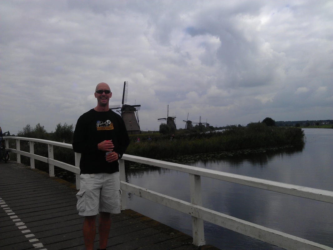 Viking River Cruise in Kinderdijk, Netherlands