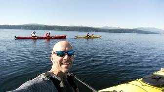 Kayaking San Juan Islands in Washington