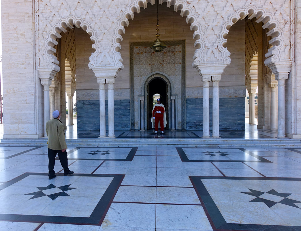 Mausoleum of Mohammed V in Rabat, Morocco