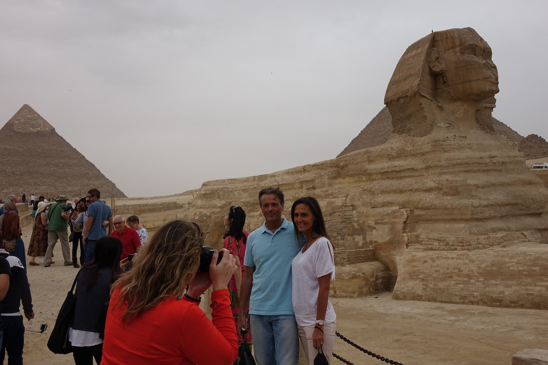 Cairo, Egypt at the Sphinx