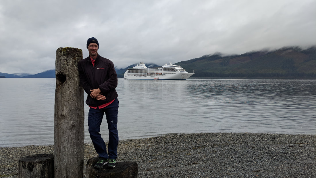 Regent Seven Seas Mariner in Icy Strait Point.