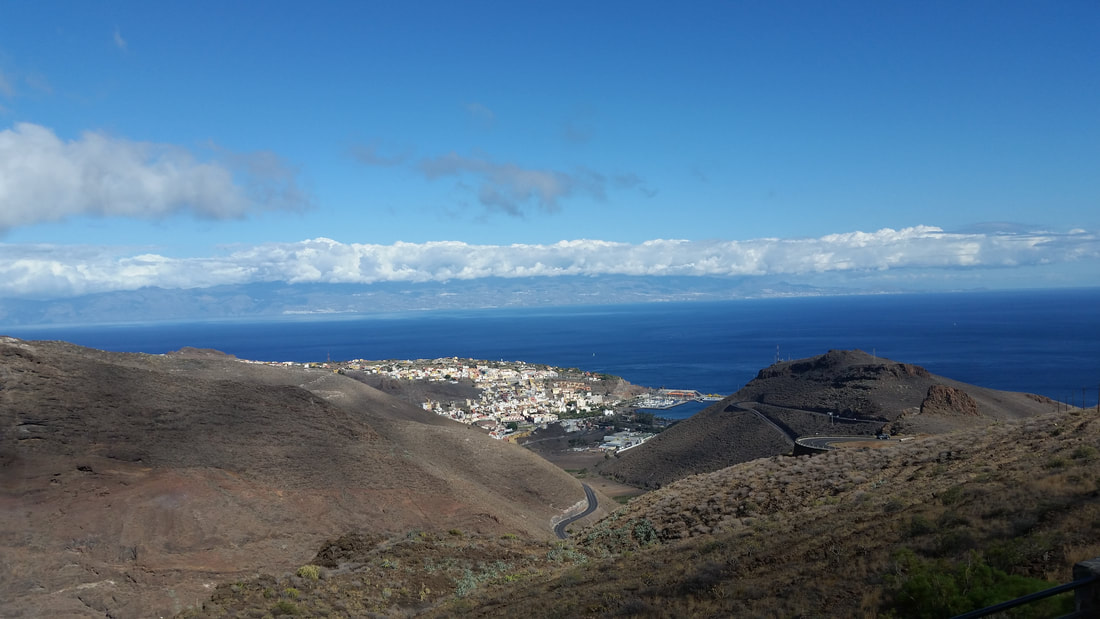 La Gomera in the Canary Islands