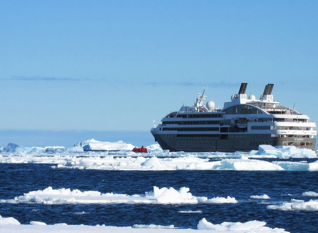 Ponant Le Boreal expedition cruise ship