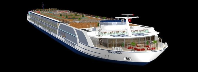 AmaWaterways AmaMagna design graphic