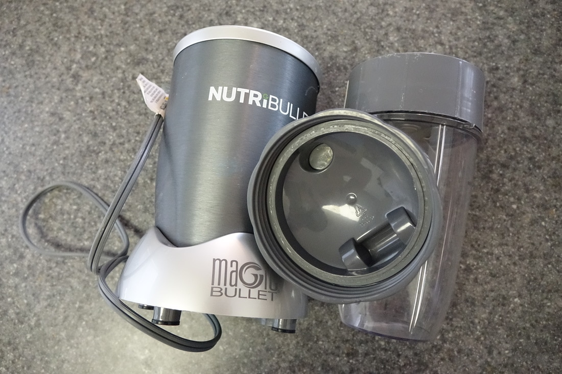 NutriBullet Magic Bullet blender for travel