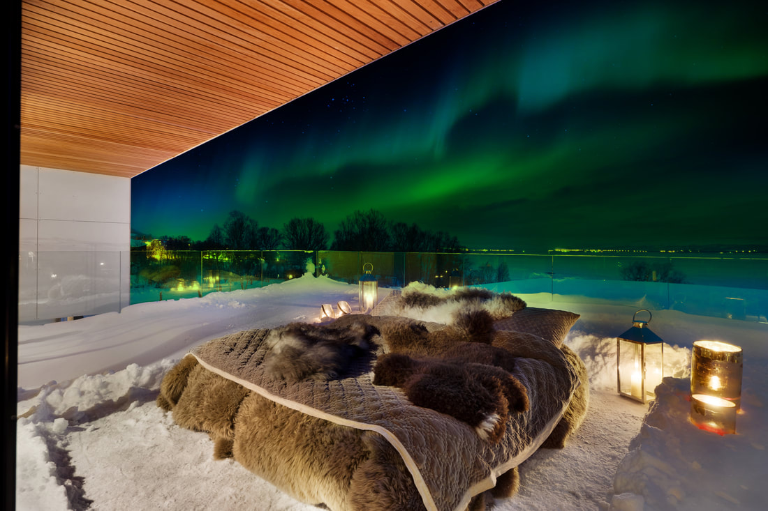 Norway Luxury Villa Lets You Sleep Outside Under the Northern Lights.
