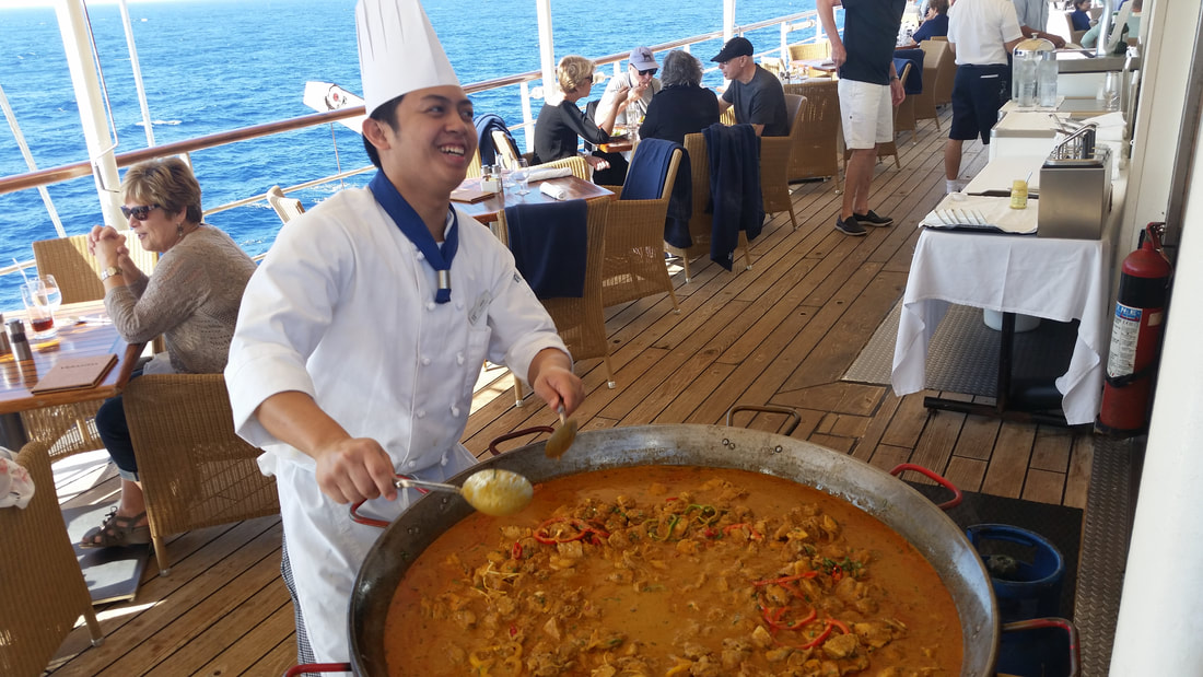 Fresh food on Windstar Cruises Wind Surf