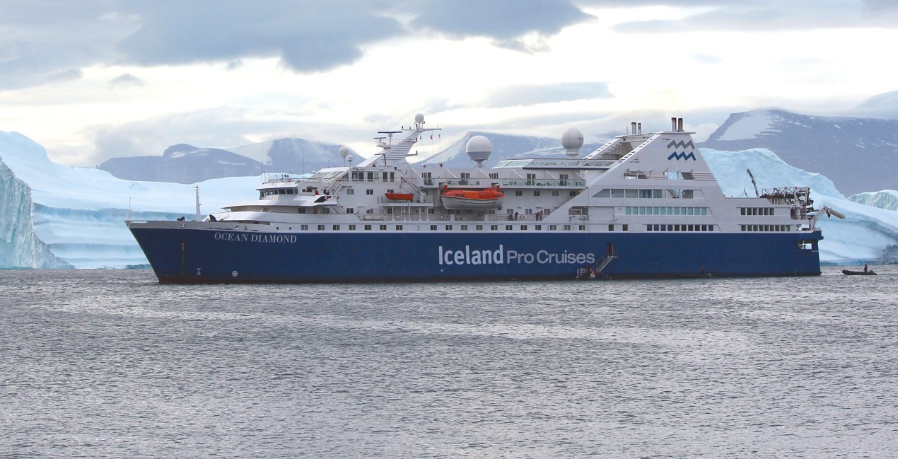 Iceland Pro Cruises ship Ocean Diamond