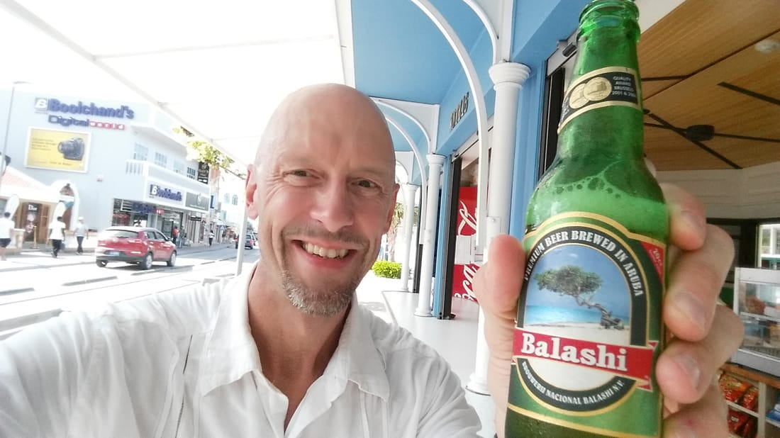 Balashi beer in Aruba