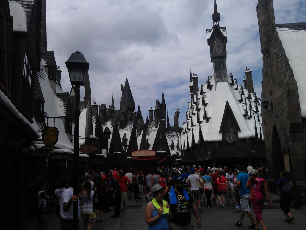 Wizarding World of Harry Potter at Universal's Islands of Adventure in Orlando, Florida
