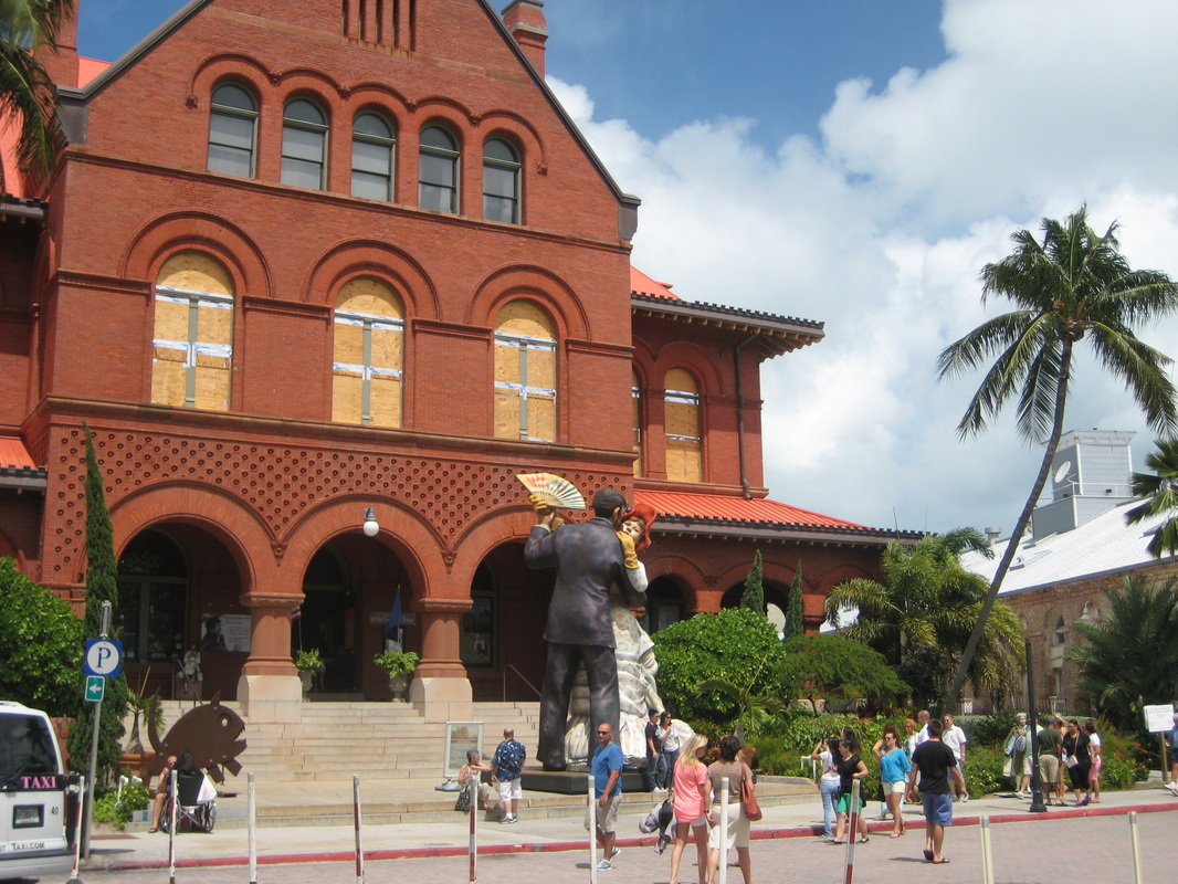 Key West Museum of Art and History at the Custom House in Mallory Square