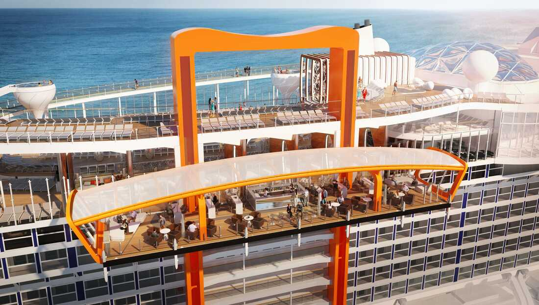 Celebrity Edge's magic Carpet