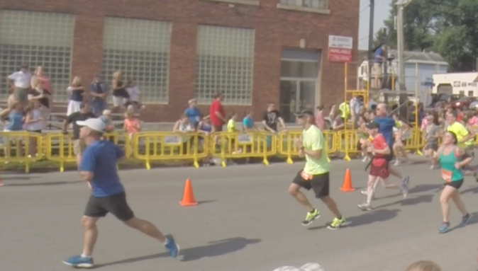 The 2015 Boilermaker15K in Utica, New York