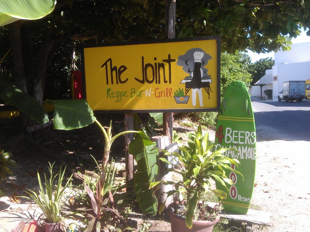 The Joint Reggae Bar and Grill, Isla Mujeres