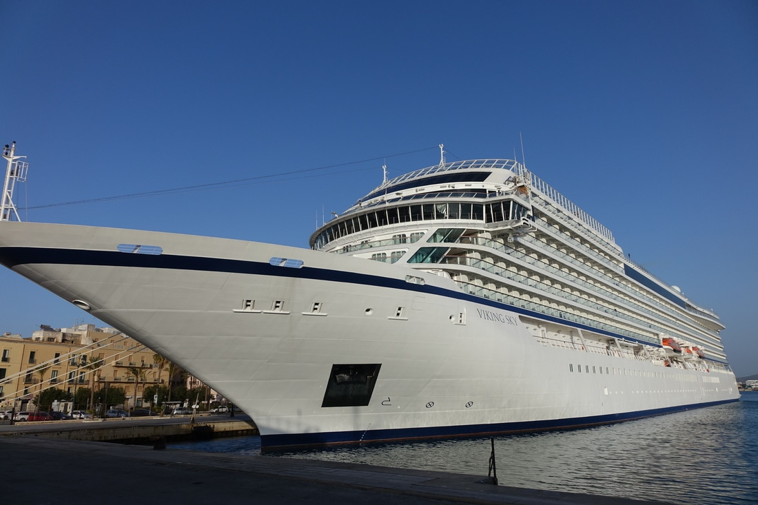 Viking Sky cruise ship