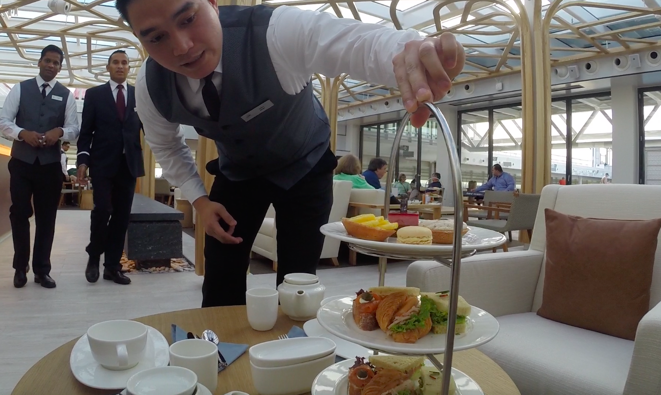 Viking Sky afternoon tea
