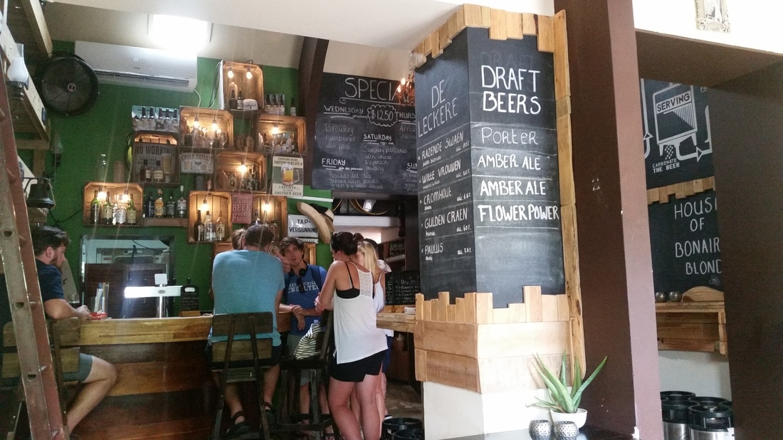 House of Bonaire Blond brewery in Bonaire craft beers