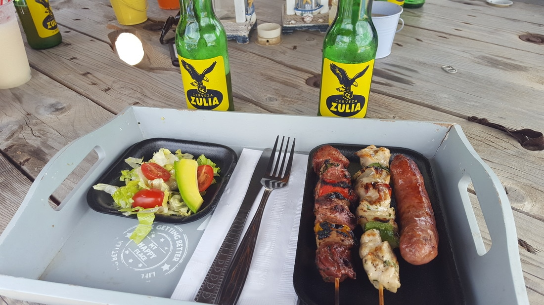 Bonaire Eden Beach food