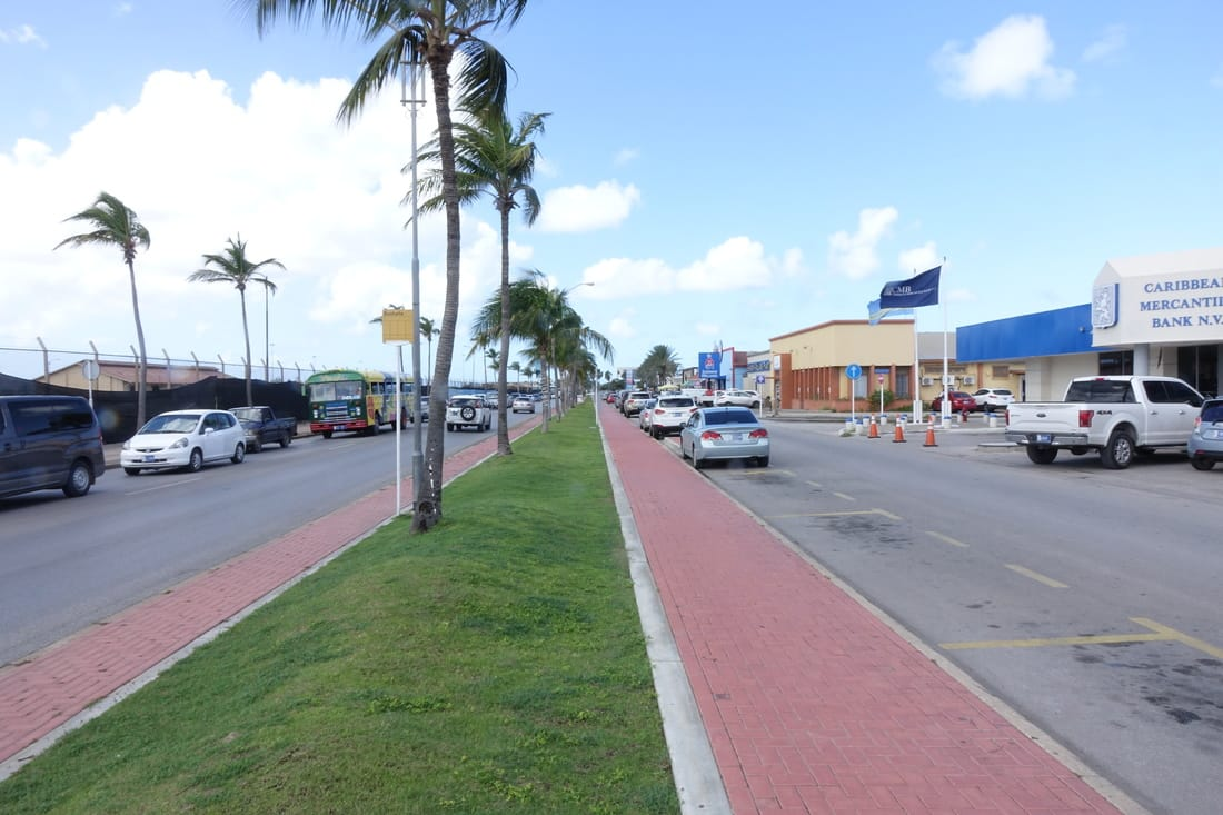 L.G. Smith Boulevard in Aruba