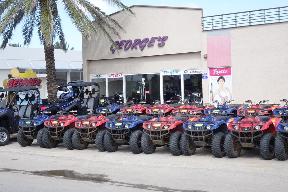 George's ATV rentals in Aruba
