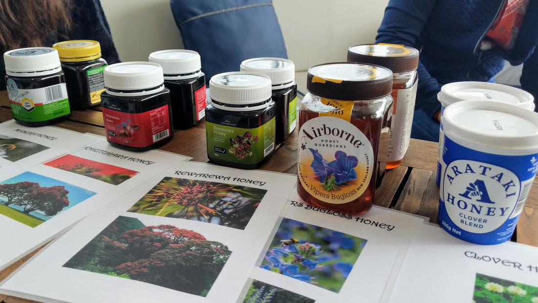New Zealand honey varieties