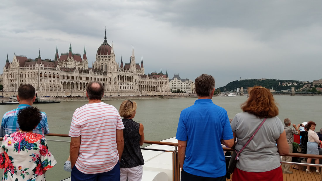 Budapest Parliament Building on view from AmaMagna