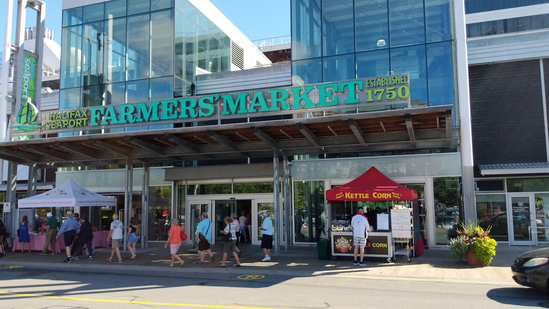 The Halifax Farmer's Market is a bustling stop filled with all kinds of vendors
