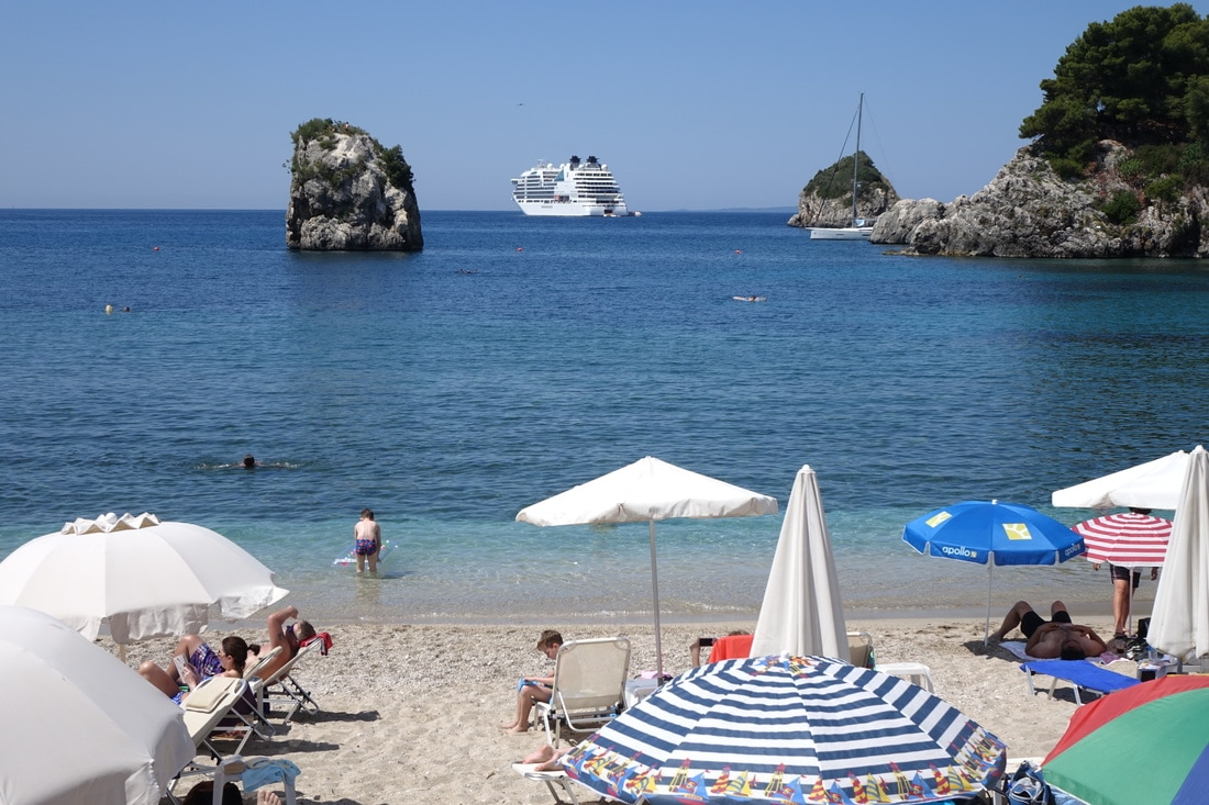 Parga, Greece beach