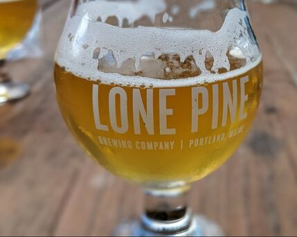 Lone Pine Brewery in Portland, Maine