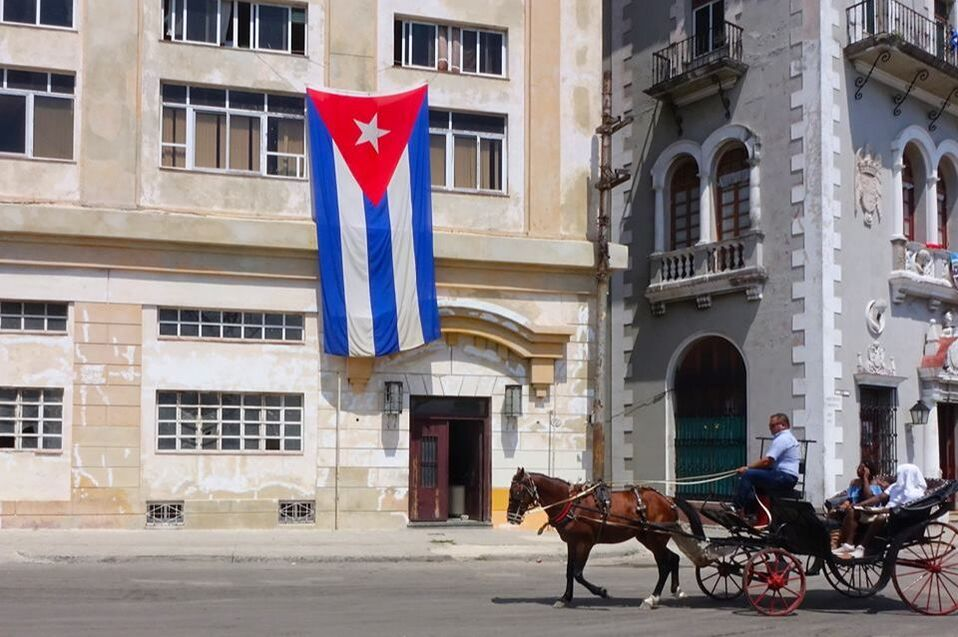 Horse carriage in Havana, Cuba