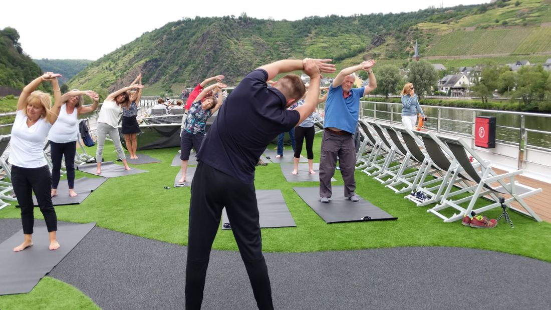 Pilates on Emerald Waterways
