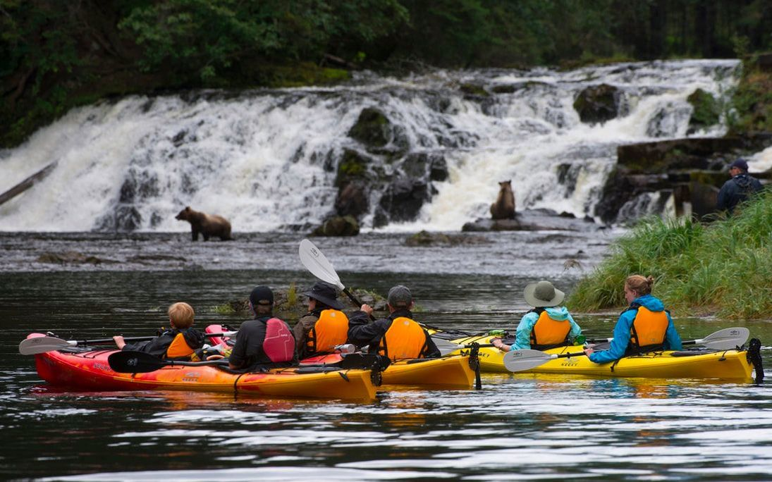 UnCruise Adventures in Alaska, kayaking