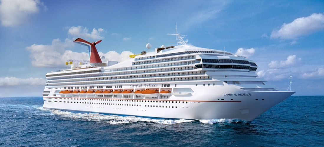 Carnival Radiance cruise ship rendering