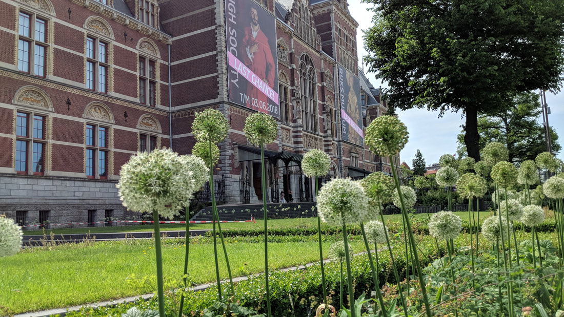 The Rijksmuseum in Amsterdam