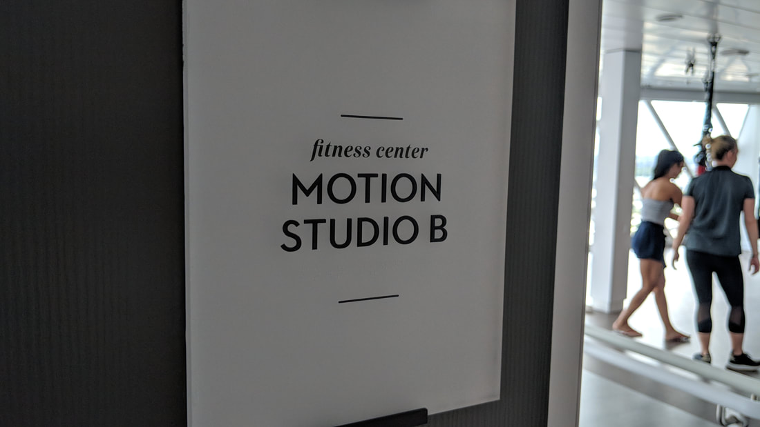 Motion Studio B on Celebrity Edge