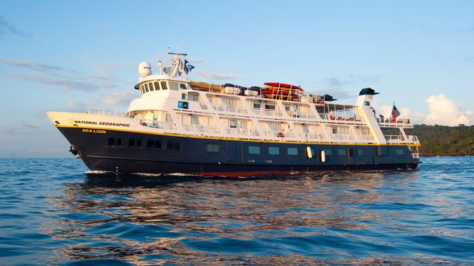 Lindblad Expeditions National Geographic Sea Lion cruise ship